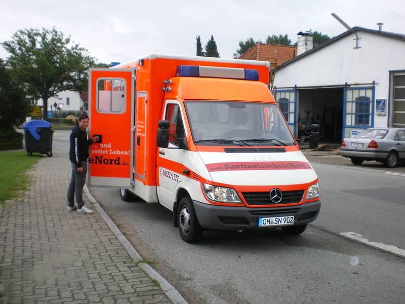 Sanitätsschule Nord Fuhrpark 9